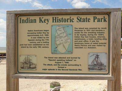 Indian Key Historic State Park image. Click for full size.