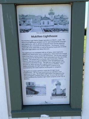 Mukilteo Light Station Marker image. Click for full size.