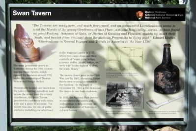 Swan Tavern Marker image. Click for full size.