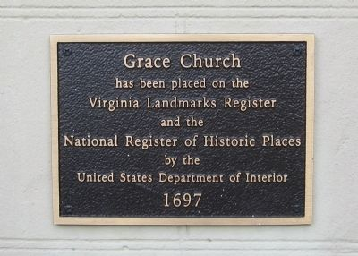 Colonial Grace Plaque image. Click for full size.