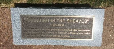"""Bringing in the Sheaves"" Marker image. Click for full size."