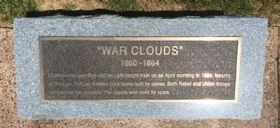 """War Clouds"" Marker image. Click for full size."