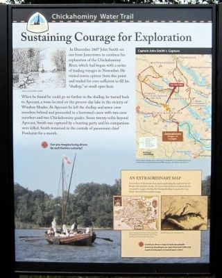 Sustaining Courage for Exploration (left panel) image. Click for full size.