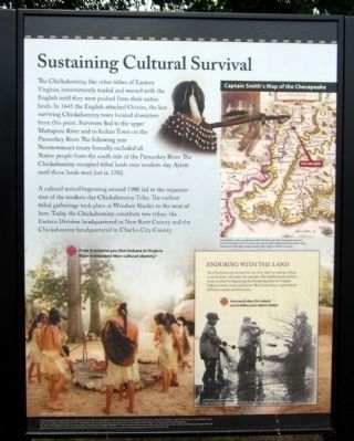 Sustaining Cultural Survival (center panel) image. Click for full size.