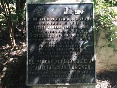 "Ecological Park ""San Lorenzo"" Marker image. Click for full size."