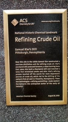 Refining Crude Oil Marker image. Click for full size.