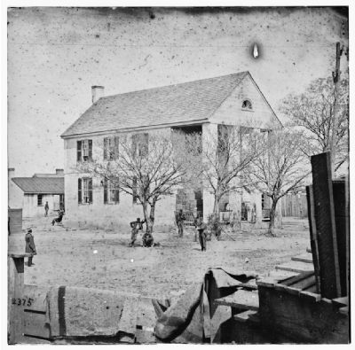 Yorktown, Virginia. View of Court House image. Click for full size.