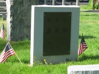 East Haddam Veterans Memorial image. Click for full size.