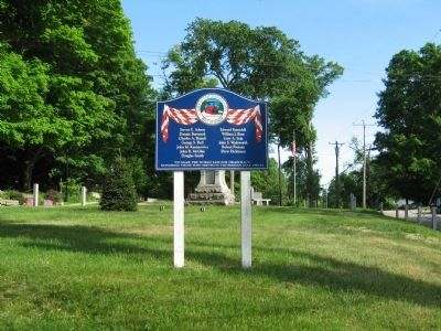 East Haddam Persian Gulf War Monument image. Click for full size.