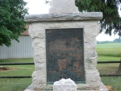 Site of Fort McCord Marker image. Click for full size.