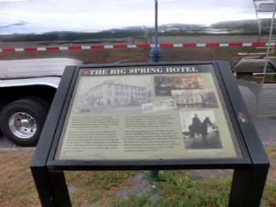 Big Spring Hotel Marker image. Click for full size.