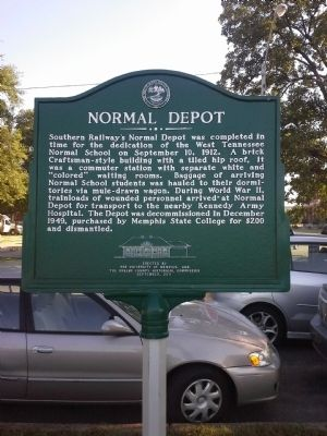 Normal Depot Marker image. Click for full size.
