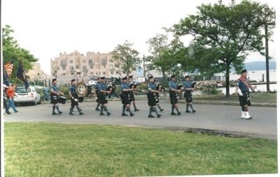 Memorial Park Parade image. Click for full size.