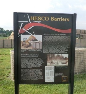 Hesco Barriers Marker image. Click for full size.