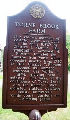 Torne Brook Farm Marker image. Click for full size.