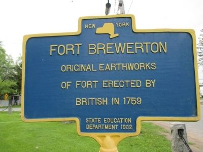 Fort Brewerton Marker image. Click for full size.