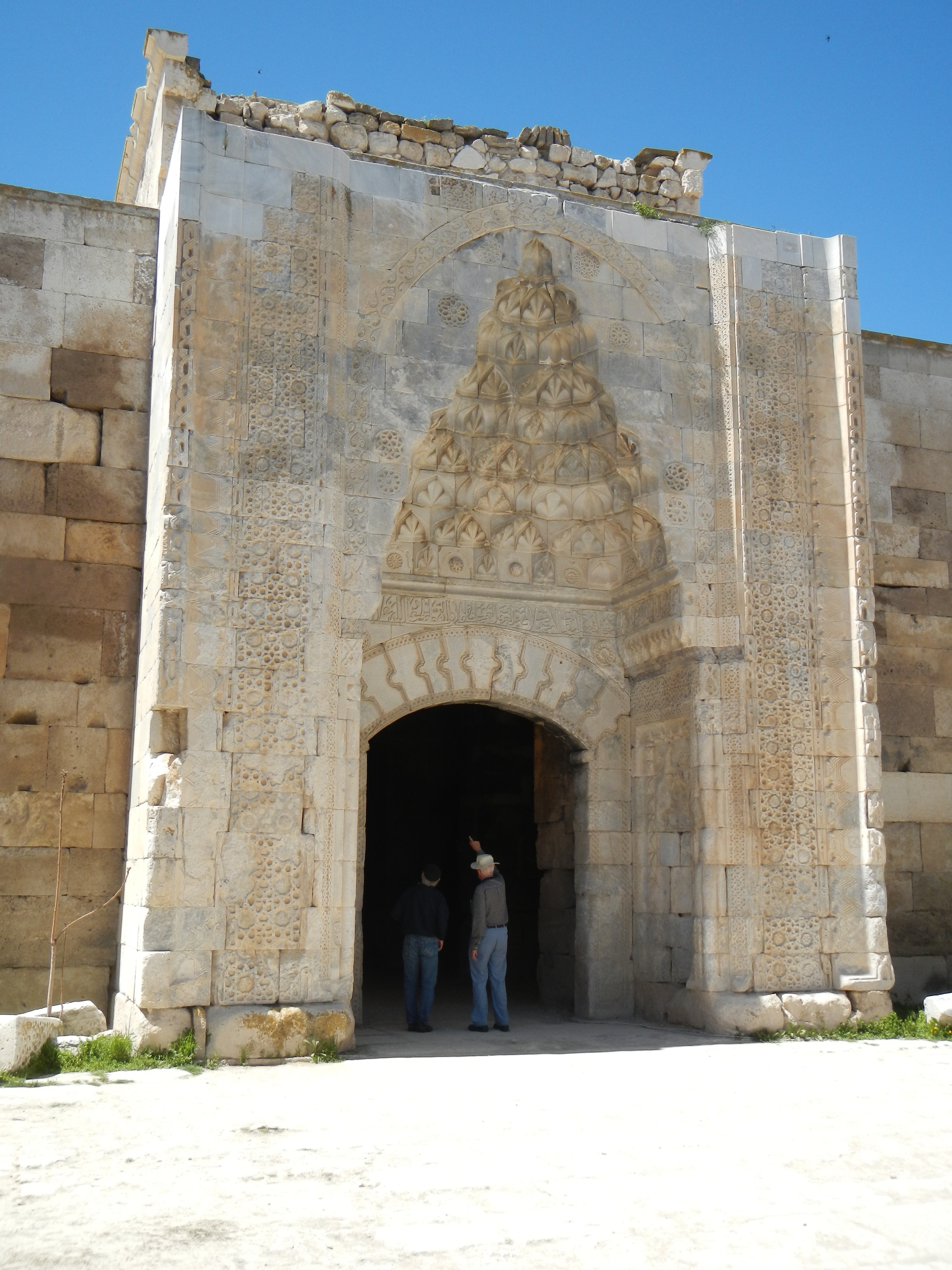Entrance to the Sultanhanı Caravanserai