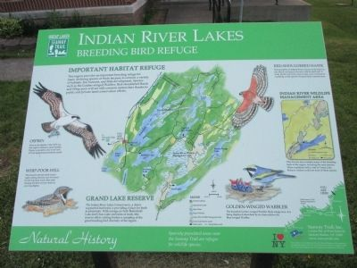 Indian River Lakes Marker image. Click for full size.