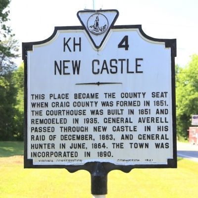 New Castle Marker image. Click for full size.