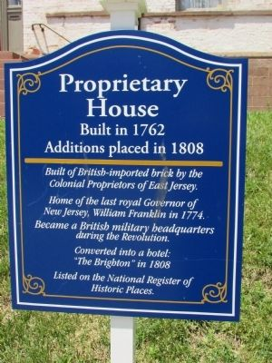 Proprietary House Marker image. Click for full size.