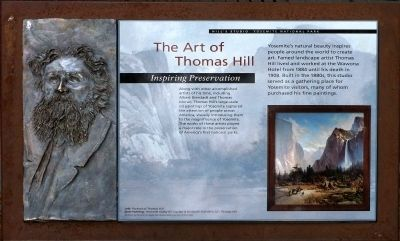 The Art of Thomas Hill Marker image. Click for full size.