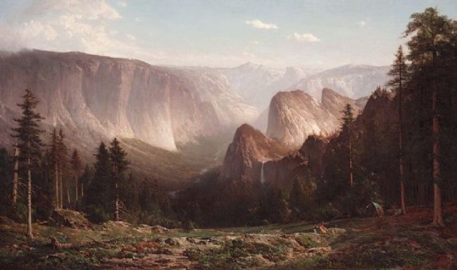 Great Canyon of the Sierra, Yosemite (1872) image. Click for full size.