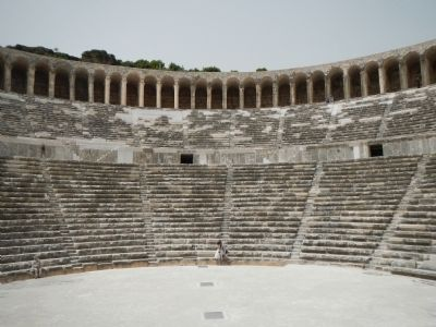 The Theatre of Aspendos image. Click for full size.