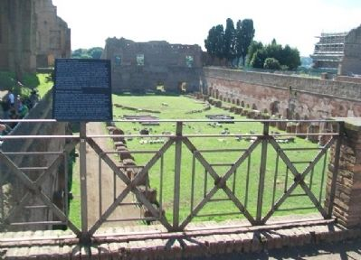 "The Palatine ""Stadium"" / ""Stadio"" Palatino and Marker image. Click for full size."