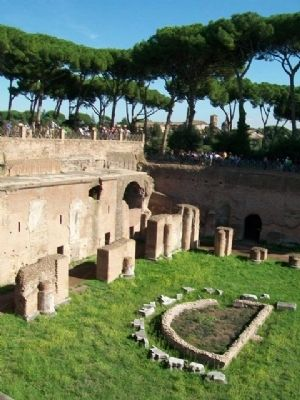 "The Palatine ""Stadium"" / ""Stadio"" Palatino image. Click for full size."