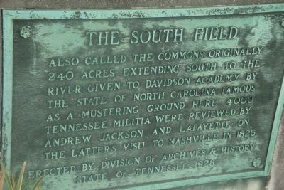 The South Field Marker image. Click for full size.
