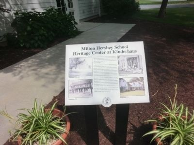 Milton Hershey School Marker image. Click for full size.