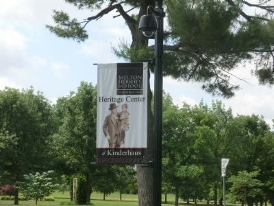 Banner-Milton Hershey School Founded 1909 image. Click for full size.