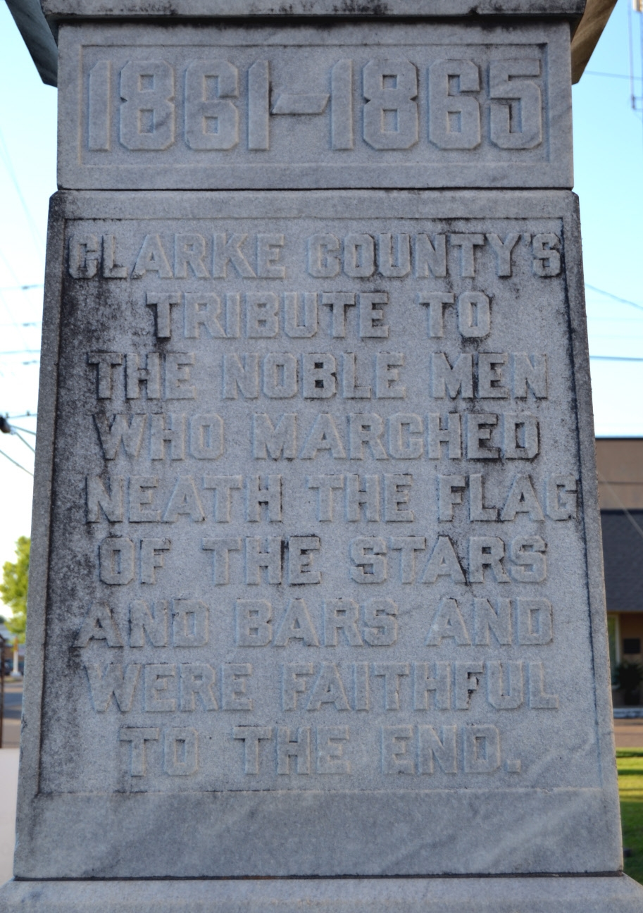 Inscription on Side Face of Monument