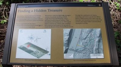Finding a Hidden Treasure Marker image. Click for full size.
