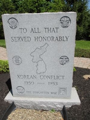 Korean Conflict Memorial image. Click for full size.