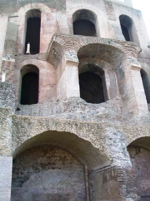 North Facade of the Domus Tiberiana image. Click for full size.