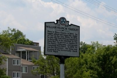 William Francis Yardley Marker image. Click for full size.