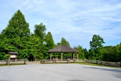 Camp Wildcat Battlefield Visitor Pavilion image. Click for full size.