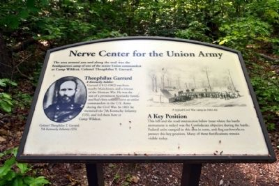 Marker #1 - Nerve Center for the Union Army image. Click for full size.