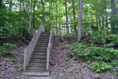 Stairway to Infantry Ridge Interpretive Trail image. Click for full size.