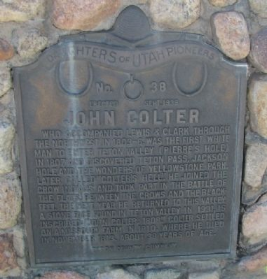 John Coulter Marker image. Click for full size.