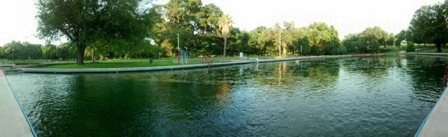 Las Moras Spring Swimming Pool image. Click for full size.