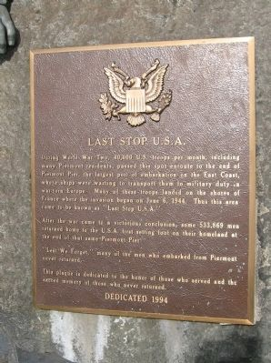 Last Stop U.S.A. Marker image. Click for full size.