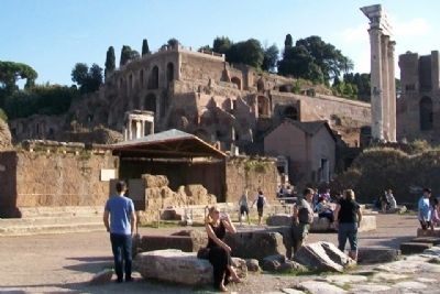 Roman Forum. History of the Excavations Marker image. Click for full size.