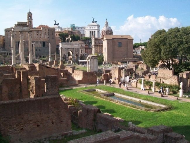 Roman Forum image. Click for full size.