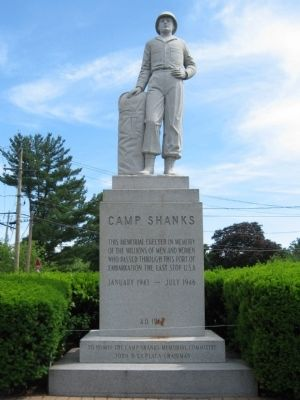 Camp Shanks Monument image. Click for full size.