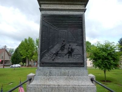North Side of Memorial image. Click for full size.