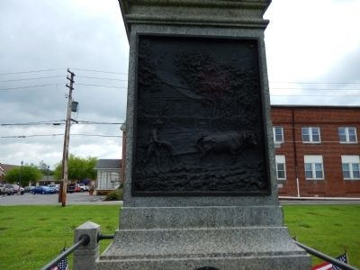 South Side of Memorial image. Click for full size.