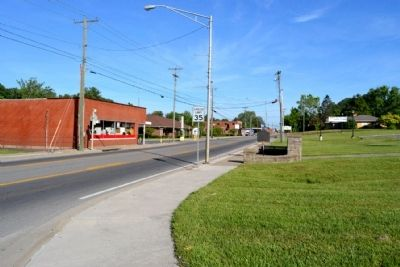 View to North Along N. Main Street (Highway 80) image. Click for full size.
