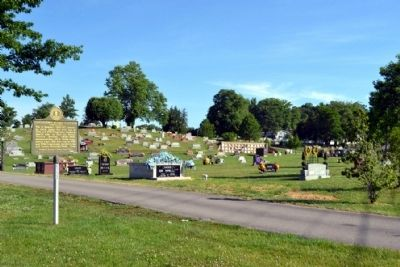 A.R. Dyche Memorial Park Cemetery image. Click for full size.